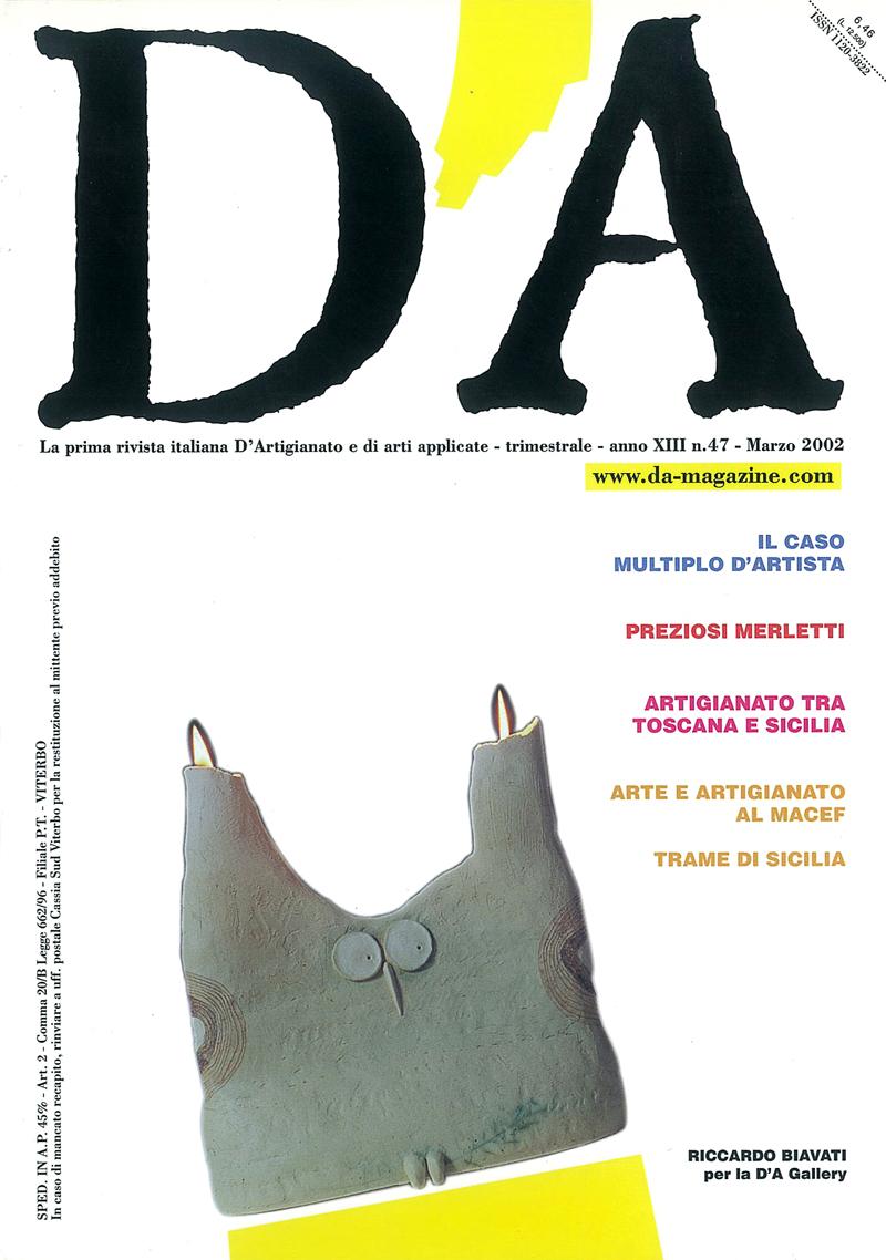 D'A n.47/2002 cover