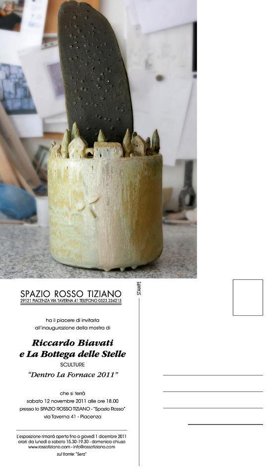 Dentro la fornace 2011, Spazio Rosso Tiziano, Piacenza