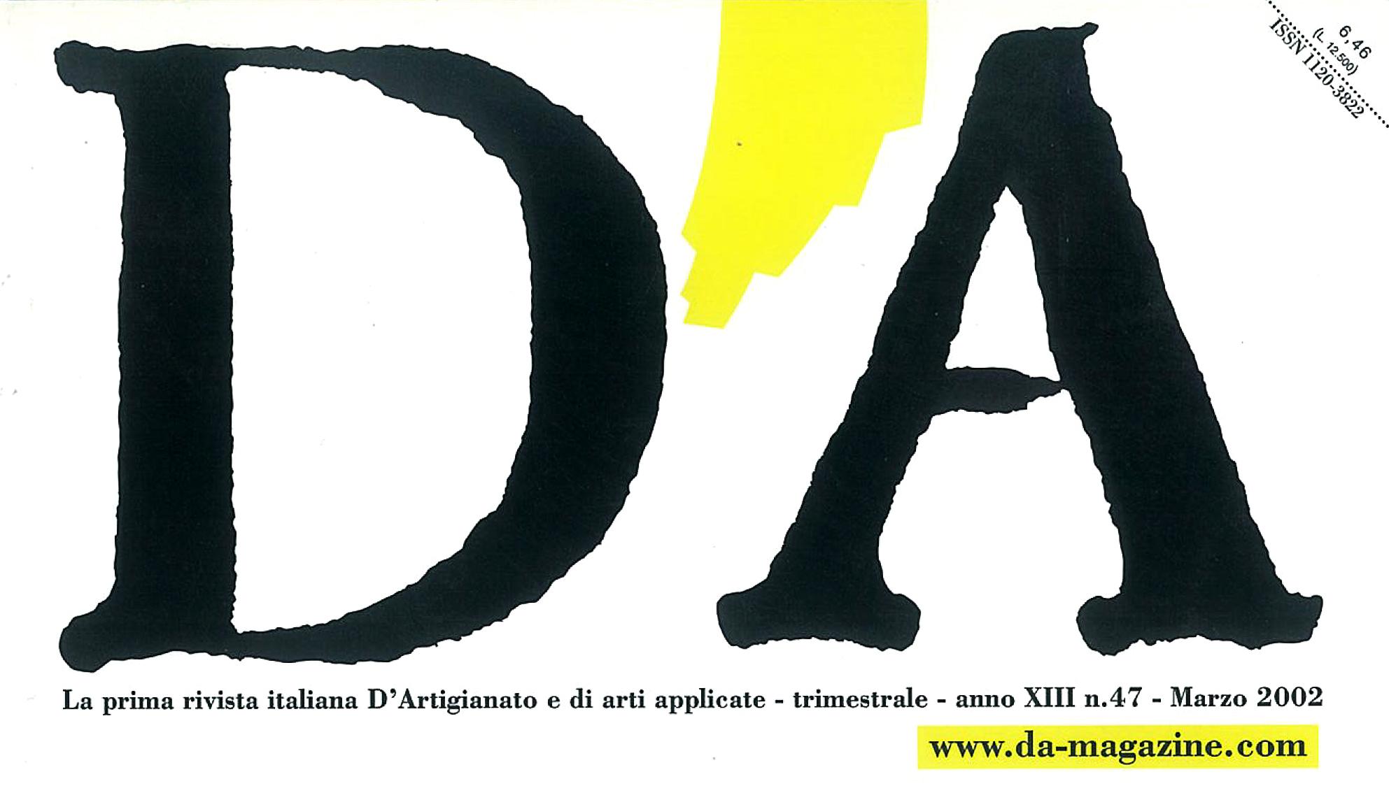 DA 47-2002 cover-part
